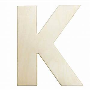 large wooden letters 12 inch unfinished wood letter k With big wooden letter k