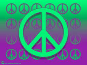 Cool Peace Sign