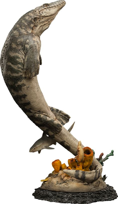 Dinosauria Mosasaur Statue by Sideshow Collectibles ...