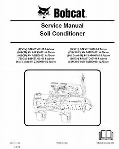 Bobcat Soil Conditioner Service Manual Pdf
