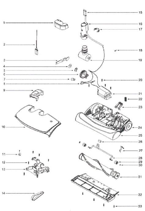 Electrolux Ela Parts List Diagram