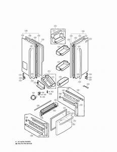 Lg Refrigerator Case Parts