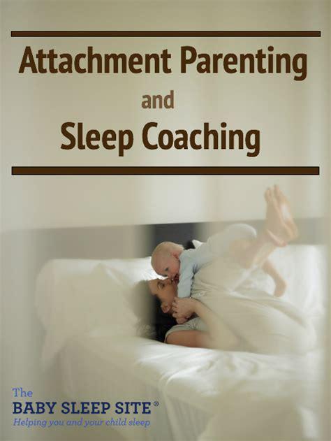 attachment parenting  sleep training