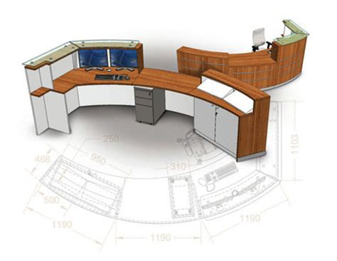 3D Reception Plan   Reception   Space Office Systems   Office Furniture London