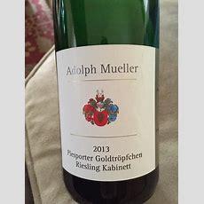 2011 Adolph Müller Piesporter Goldtröpfchen Riesling
