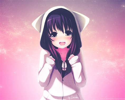 cute anime girls backgrounds  hd wallpapers desktop