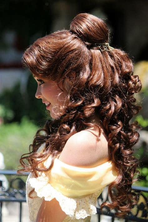 belle hairdo      disney princess
