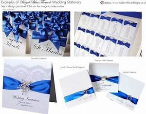 royal blue wedding centerpieces my39s blog With electric blue wedding invitations