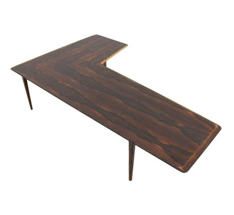 coffee and l tables l shape coffee table from the sixties by unknown designer