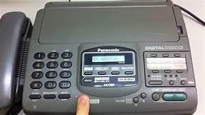Telephone  U0026 Fax Panasonic Kx-f890