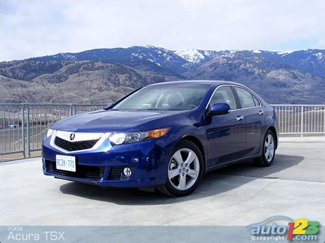 2009 Acura Tsx Reviews by Auto123 New Cars Used Cars Auto Shows Car Reviews