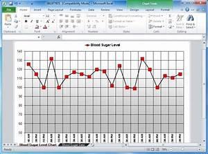 Glucose Log Sheet  Blood Sugar Tracker Template For Excel