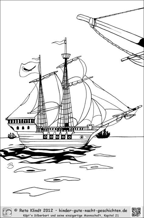 piraten ausmalbilder von kaeptn silberbart kigunage