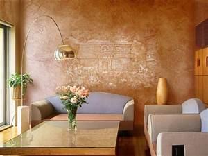 Wandgestaltung Farbe Wohnzimmer : tolle wandgestaltung mit farbe 100 wand streichen ideen ~ Sanjose-hotels-ca.com Haus und Dekorationen