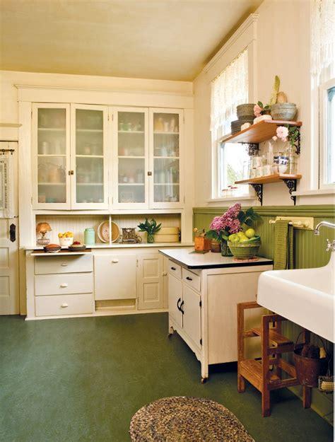true vintage kitchen craftsman kitchen kitchen flooring