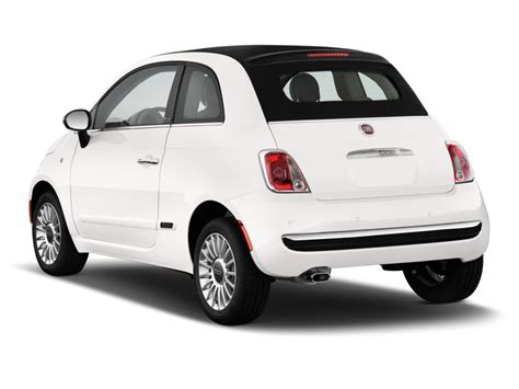 2013 Fiat 500 Convertible by Image 2013 Fiat 500 2 Door Convertible Lounge Angular