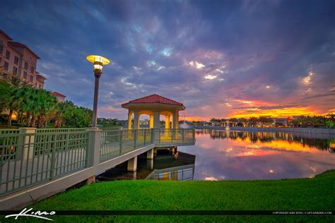 palm gardens fl sunset from the lake at palm gardens florida