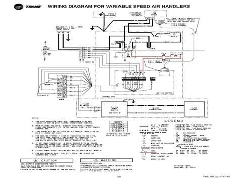 trane air handler wiring diagram somurichcom