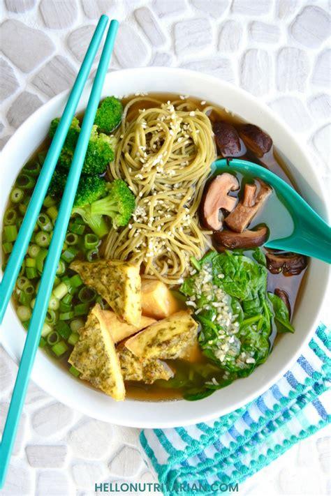 nutritarian pho noodle soup  nutritarian