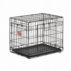 midwest homes for pets lifestages ace double door dog With dog crates tsc stores