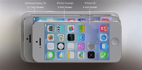 samsung galaxy s5 vs iphone 5s new concept iphone 6 vs samsung galaxy s5 vs iphone 5s