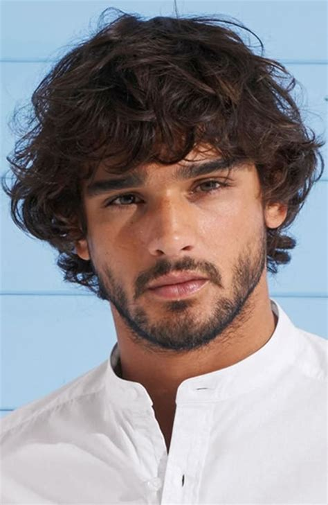 curly hairstyles  men fashionbeans