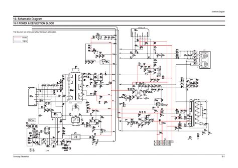 samsung chassis sa schematic service manual