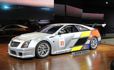 Cadillac Cts V Race Car by Cadillac Cts V Coupe Race Car At 2011 Detroit Auto Show