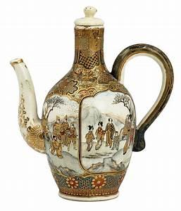 Satsuma, Teapots, Two