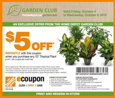 coupon home depot garden 2017 2018 best cars reviews
