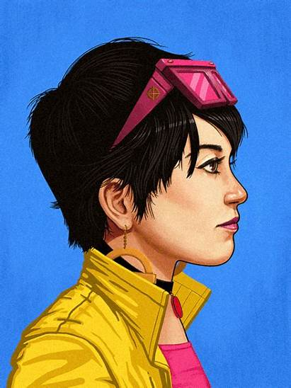 Marvel Jubilee Mike Mitchell Hero Portraits Mondo