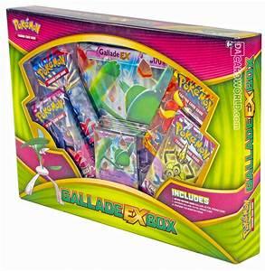 pokemon gallade ex box