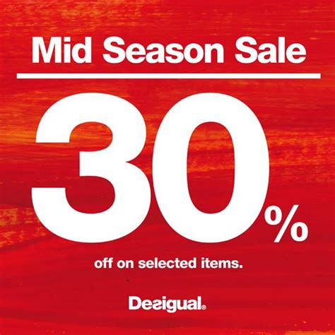 Desigual Mid Season Sale 2013: 30% Discount Off Selected ...