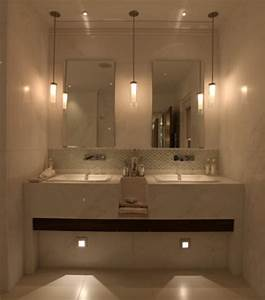 Small bathroom remodel be equipped lighted mirror with pendant lighting and