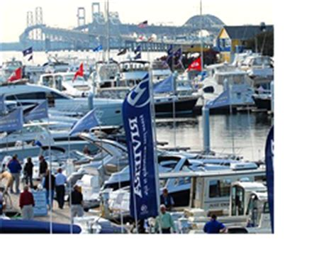 Bay Bridge Boat Show Annapolis Md by Annapolis Boat Shows The Nation S Largest In Water Boat