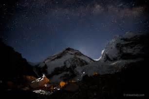 Mount Everest at Night