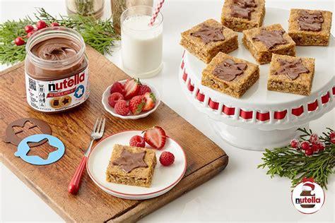 Ziemeļbriežu iecienītie burkānu kvadrātiņi ar NUTELLA® lazdu riekstu krēmu - Nutella