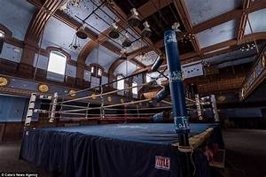 Boxing ring featured in the Rocky films now lies abandoned ...