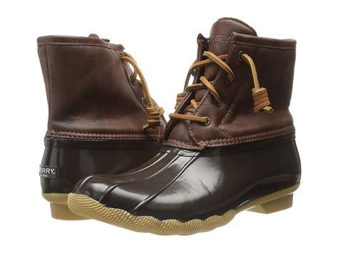 Sperry Kids Saltwater Boot (little Kid/big Kid) At Zappos.com