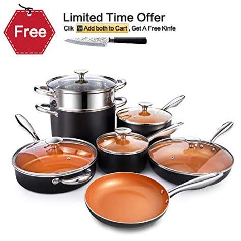 michelangelo   ceramic frying pan nonstick ultra nonstick frying pans   toxic