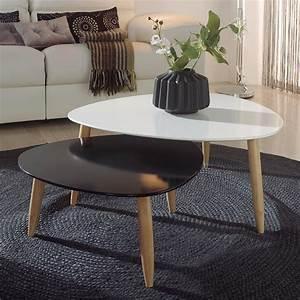 Table Basse Gigogne Style Scandinave SOFAMOBILI