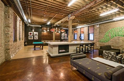 Home Decor Warehouse : Warehouse Homes Fascinating Industrial Living Room Designs