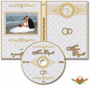Photoshop wedding DVD cover psd sample for bride and groom ...