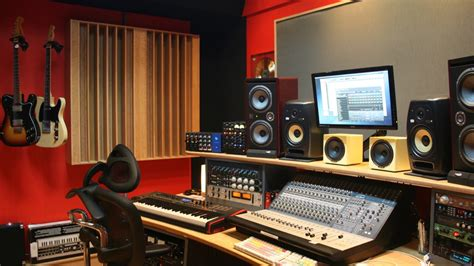 The Bunker recording studio landing page   Miloco