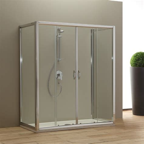 vasca cabina doccia porta doccia per sostituire la vasca 170x80 cm kv store