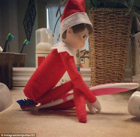 parents share  rude    elf   shelf