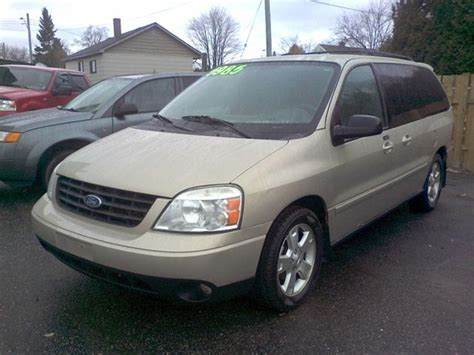 how to sell used cars 2007 ford freestar windshield wipe control 2007 ford freestar ltd avail north bay ontario used car for sale