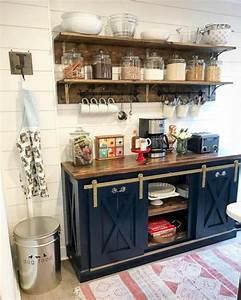 Unusual, Diy, Kitchen, Open, Shelving, Ideas