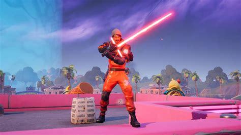 fortnite wars star lightsaber saber locations event use fighter tie season ad war 1200 pc