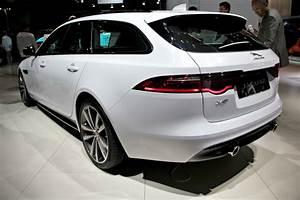Avis Jaguar Xf : jaguar xf sportbrake mieux vaut tard en direct du salon de francfort 2017 ~ Gottalentnigeria.com Avis de Voitures